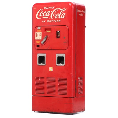 "Vendorlator Mfg. Co. ""VMC 72"" Coca-Cola Dual-Chute Vending Machine, 1955"