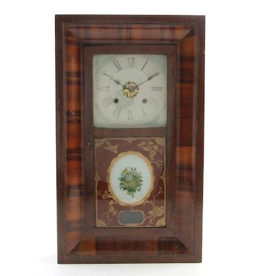 Ansonia Rosewood Ogee Case Shelf Clock, Late 19th Century