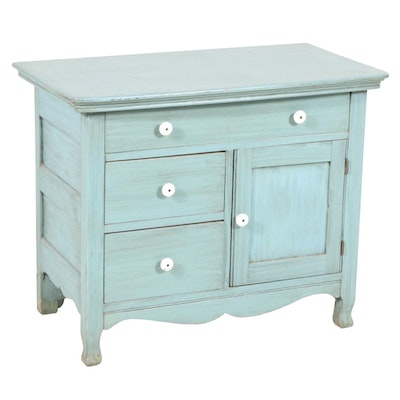 Farmhouse Style Side Cabinet, Contemporary