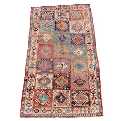 5'1 x 9'2 Hand-Knotted Caucasian Shirvan Rug