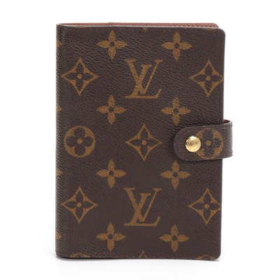 Louis Vuitton PM Agenda in Monogram Canvas