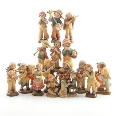 Anri Juan Ferràndiz Series Wood Musician Figurines