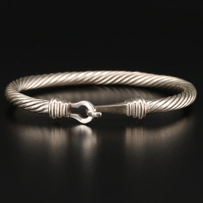 Sterling Silver Twisted Bracelet