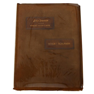 "Elbert Hubbard Signed ""Little Journeys To The Homes Of Great Musicians"", 1901"