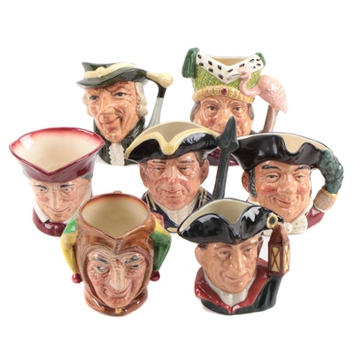 """Royal Doulton """"Ugly Duchess"""", """"Regency Beau"""", and Other Character Mugs"""