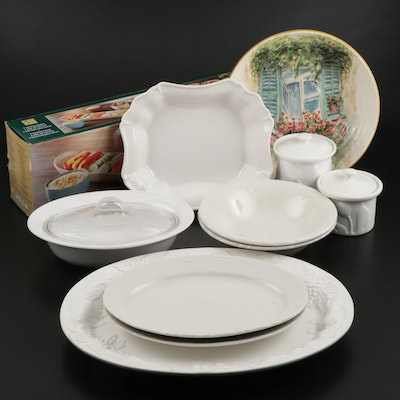 Versailles, Gibson and Other Ceramic Serveware