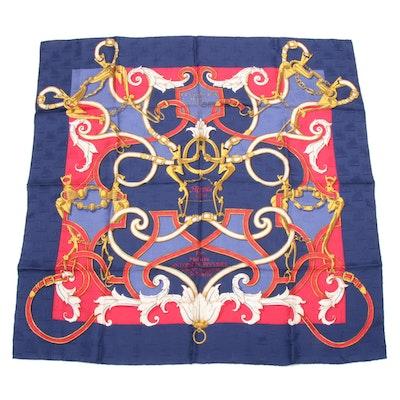 "Hermès ""L'Instruction du Roy"" Silk Scarf"