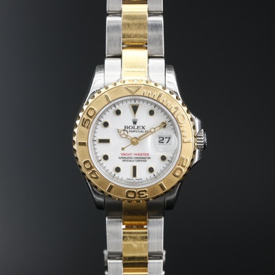 2003/2004 Rolex Yacht Master 18K and Stainless Steel Automatic Wristwatch