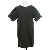 Vince Silk Blend Forest Green Tunic Dress