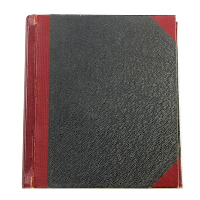 University of Cincinnati Professor Norwood C. Geis Photo Album and Scrapbook