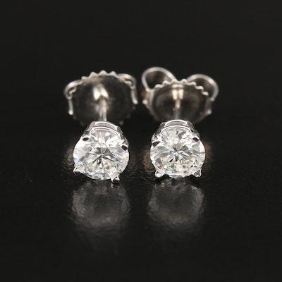 14K 1.06 CTW Diamond Stud Earrings