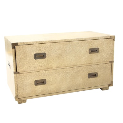 Henredon Decorative Lacquered Campaign Chest