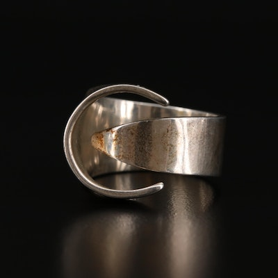 Foote Sterling Silver Contemporary Style Ring