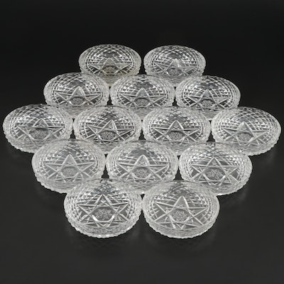 Waterford Crystal Bowls with Six Point Star Design