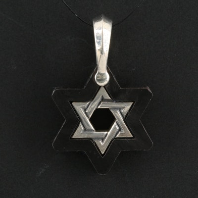 David Yurman Sterling Silver Star of David Pendant