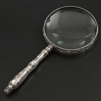 Ferdinand Fuchs & Bros. for Theodore B. Starr Sterling Silver Magnifying Glass