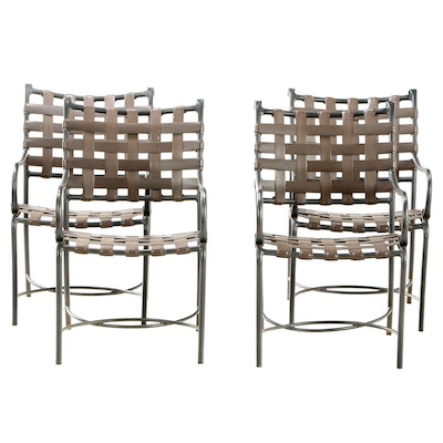 Brown Jordan Outdoor Patio Arm Chairs, Mid to Late 20th Century