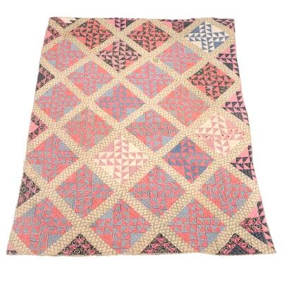 Handmade Cotton Patchwork Quilt