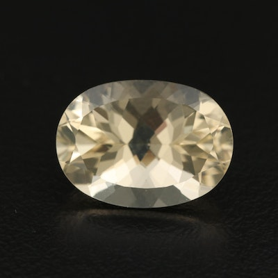 Loose 7.26 CT Oval Faceted Labadorite