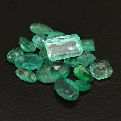 Loose 3.20 CTW Emeralds