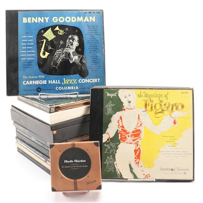 Classical, Opera, and Jazz Vinyl Records, Mid-20th Century