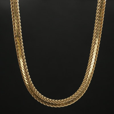 Balestra 14K Gold Chain Necklace