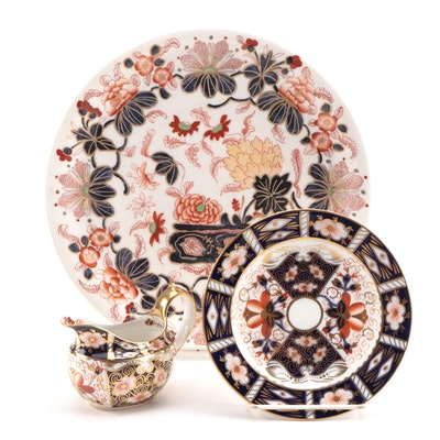 "Royal Crown Derby ""Traditional Imari"" Bone China Dinnerware and Other Imari"