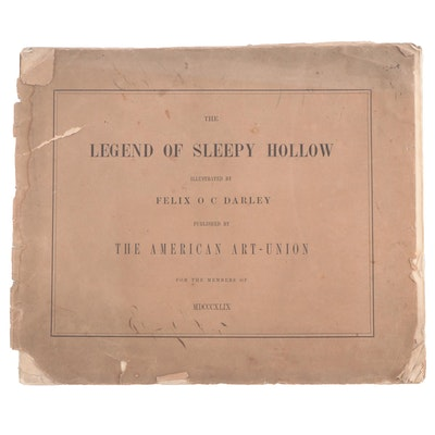 """The Legend Of Sleepy Hollow"", Mid 19th Century"
