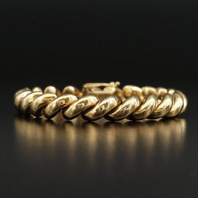 18K San Marco Chain Bracelet