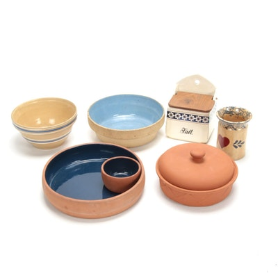 Twentieth Century German Stoneware, Terracotta and More