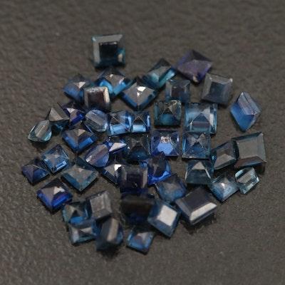 Loose 0.60 CTW Sapphires
