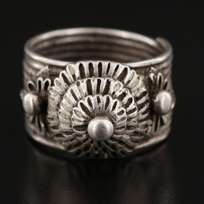 Omani Shadabiyyah Sterling Silver Ring