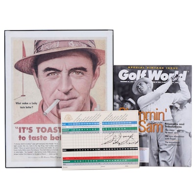 Sam Snead Autograph and Ephemera Collection