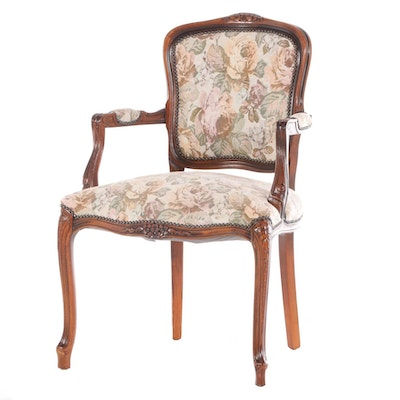 Signature Collection Louis XV Style Upholstered Armchair