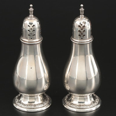 "International Silver ""Prelude"" Sterling Silver Salt and Pepper Shakers"