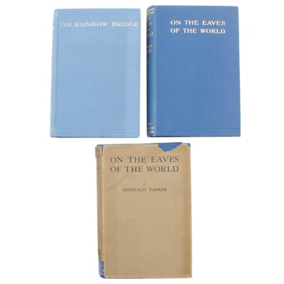 "1926 ""On the Eaves of the World"" and ""The Rainbow Bridge"" by Reginald Farrer"