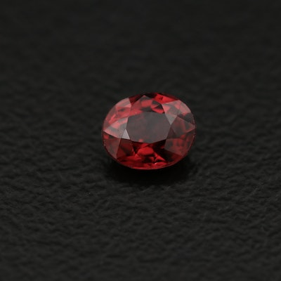 Loose 0.39 CT Spinel Oval Faceted