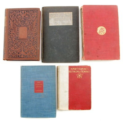 "1908 ""The Jungle Book"" with Other Classic Novels, Late 19th/ Early 20th Century"