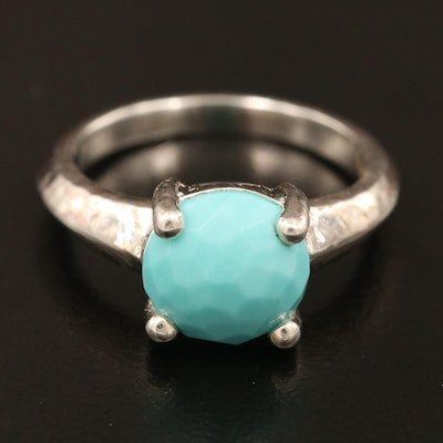 "Ippolita ""Rock Candy Collection"" Sterling Silver Turquoise Ring"