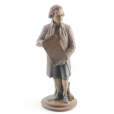 "Cairn Studios ""Thomas Jefferson"" Retired Resin Figurine Designed by Tom Clark"