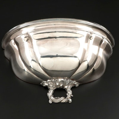 Silver Plate Meat Dome Wall Pocket