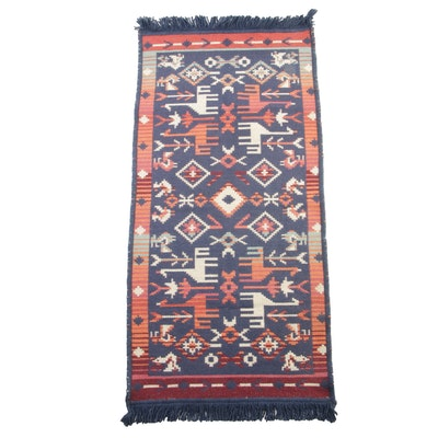 1'7 x 3'3 Handwoven South American Wool Rug
