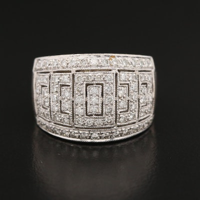 18K 1.21 CTW Diamond Band