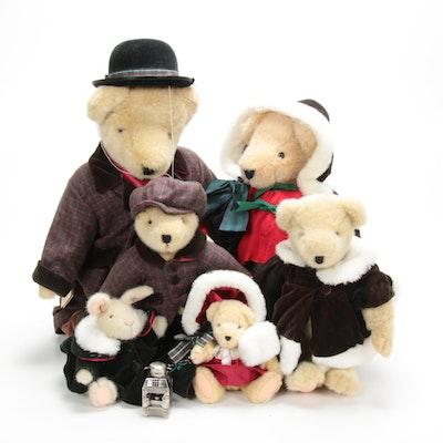 """Vanderbear """"A Christmas Carol"""" Teddy Bears, 1990s"""