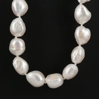 11 x 13 mm Baroque Pearl Endless Necklace