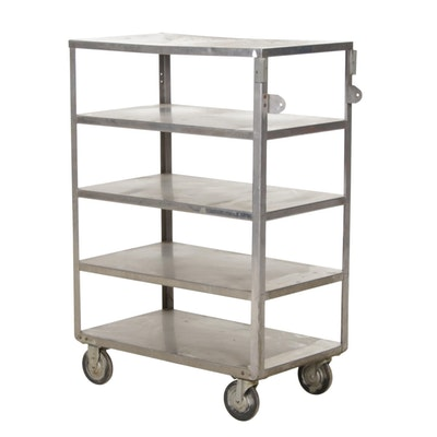 Stainless Steel Industrial Rolling Cart