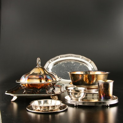 Lunt, Reed & Barton and Other Silver Plate Serveware