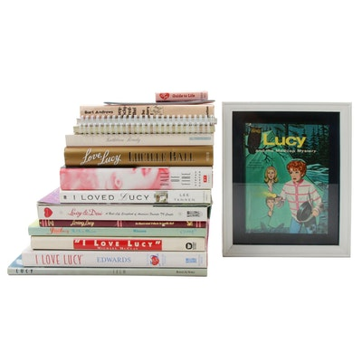 """I Love Lucy"" Themed Books and Calendars"
