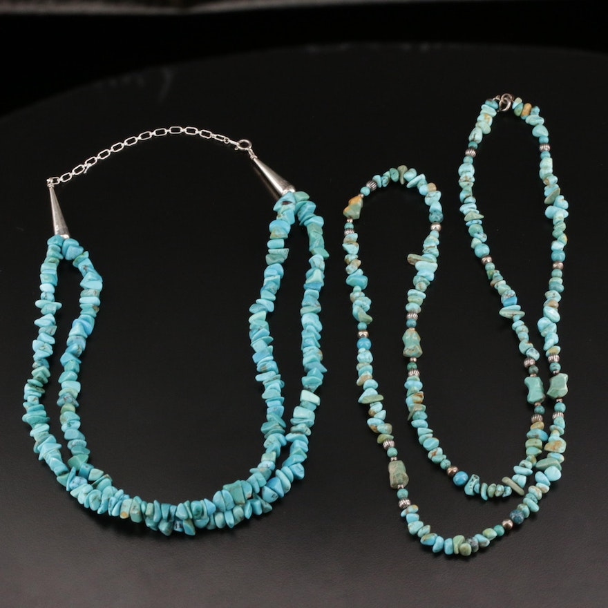 Western Style Turquoise Necklaces Featuring Carolyn Pollack for Relios