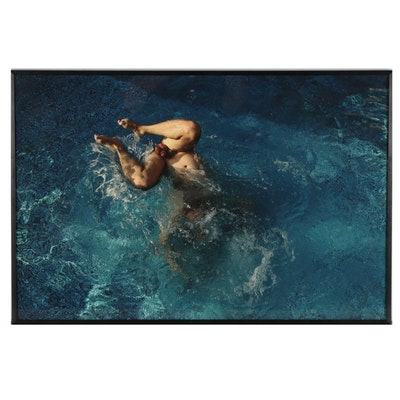 "David DeAubrey Giclée ""October Swim,"" 2006"